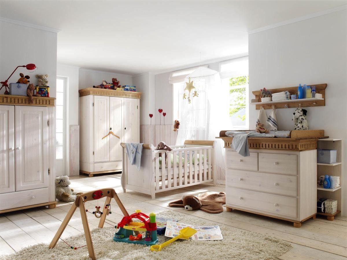 Babyzimmer Kiefer Massiv Landhausstil Helsinki Verschiedene Farben