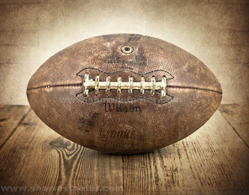 Vintage Football Photo Print Boys Room Decor By Shawnstpeter 20 00