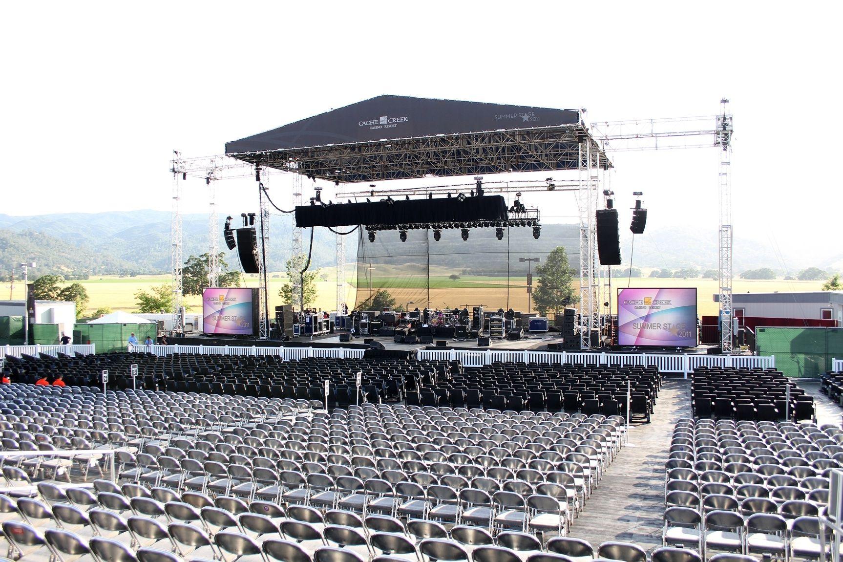 Image result for live outdoor concert stage | Concert ...