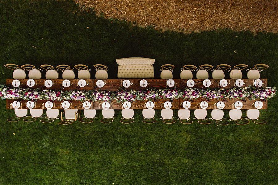 Pin by Alyse Walker on wedding Farm table wedding