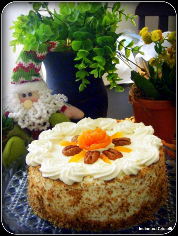 apricot and pecan cake