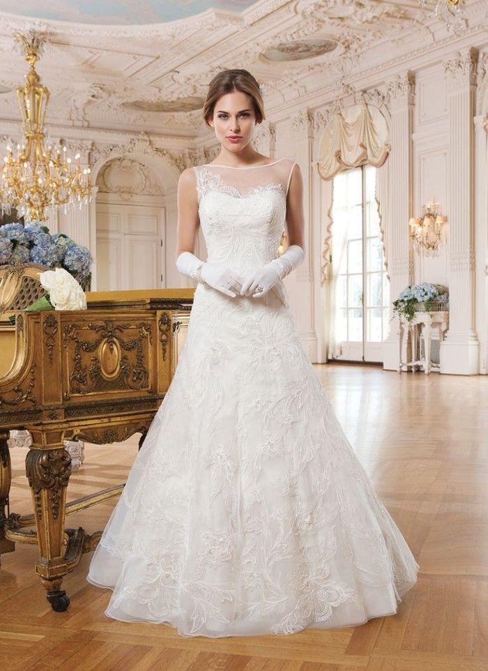 Elegant Wedding Dress from Lillian West   Lillian west, Classic ...