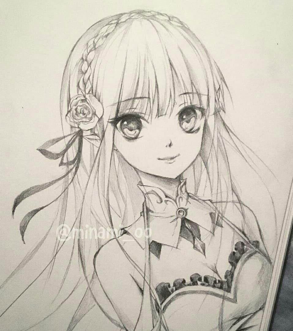 Image May Contain Drawing Anime Character Drawing Anime Art Beautiful Anime Sketch