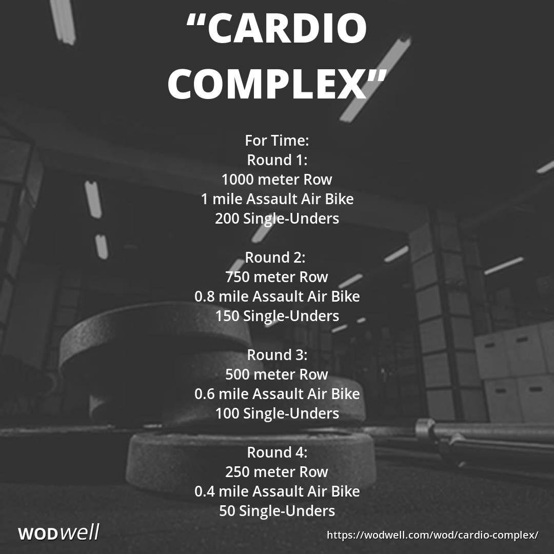Cardio Complex Wod Wod Workout Wod Crossfit Biking Workout