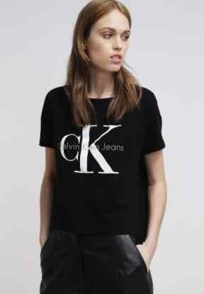 Klein Camiseta Jeans Meteorite Print Calvin Moda p0vxwwE