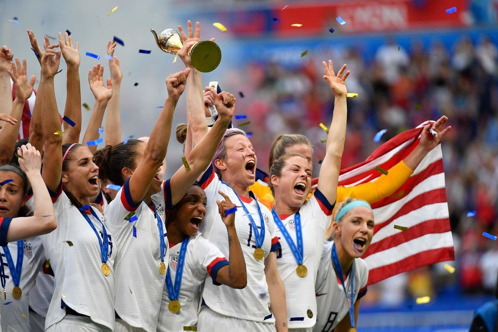 U S Wins World Cup And Becomes A Champion For Its Time World Cup Soccer World Team Usa