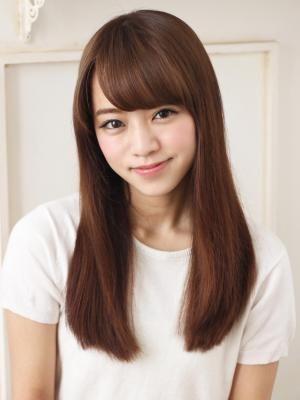前髪で印象が変わる ロングヘアの前髪カタログ20 ロングヘア 前髪カタログ ロングヘア 前髪