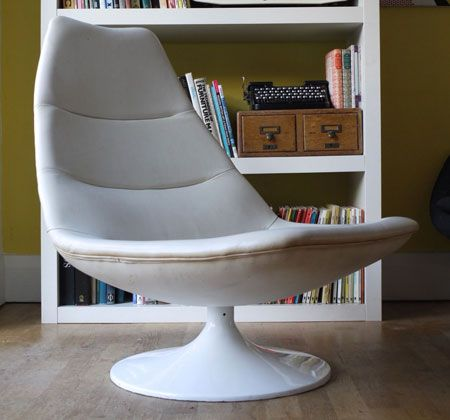 1960s Artifort leather swivel lounge chair by Geoffrey Harcourt on eBay