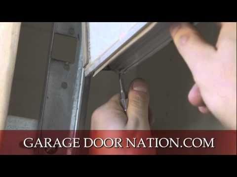 Diy How To Install Garage Door Weather Stripping Seal Tutorial