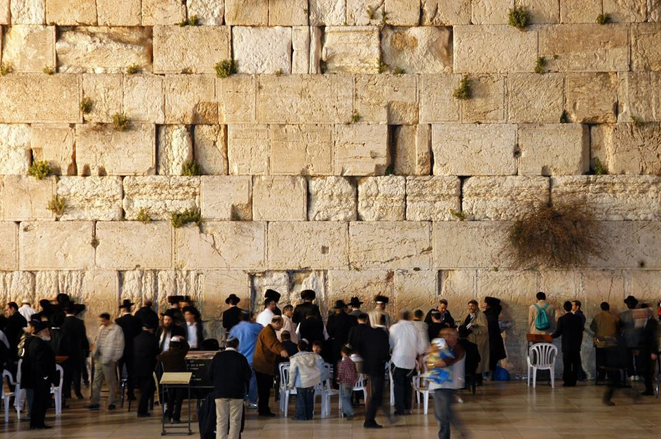 The Wailing Wall of Jerusalem  Clearly Megalithic   how old