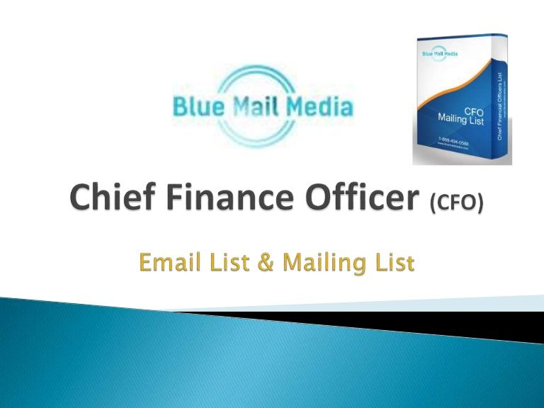 How to target CFO's of various companies to get more