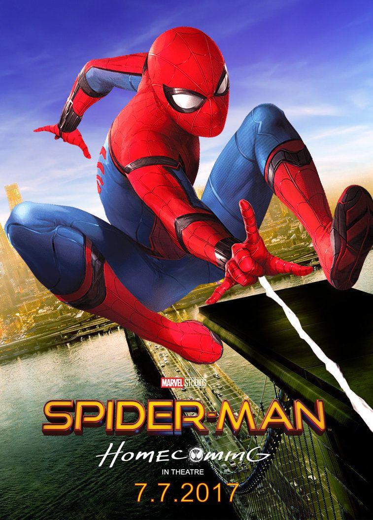 Spiderman Homecoming 2017 Poster by edaba7.deviantart.com ...