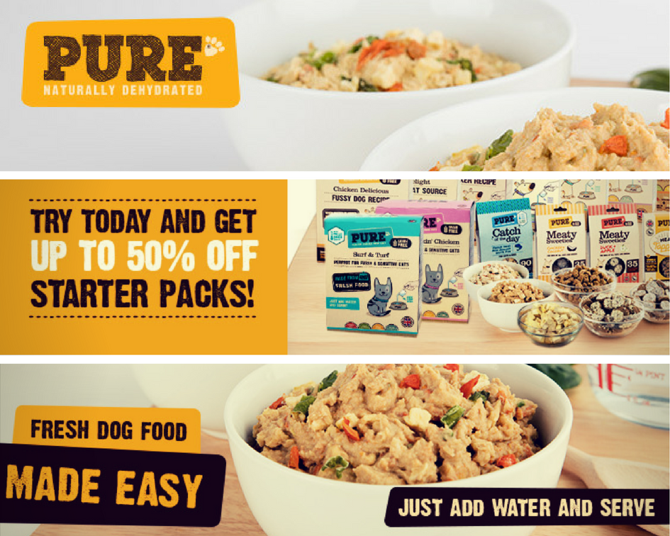 TipTuesday Get your paws on a massive 50 off Pure Pet