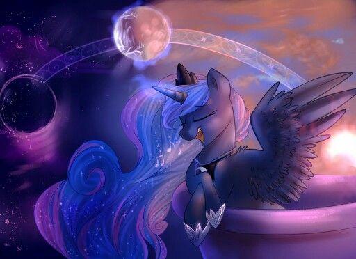 Фазы луны | Принцесса луна, Рисунки, Пони
