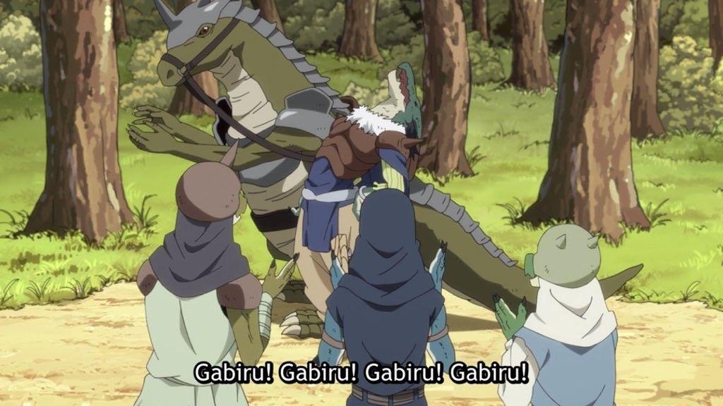 Episode 11 gabiru is here crunchyroll funimation anime