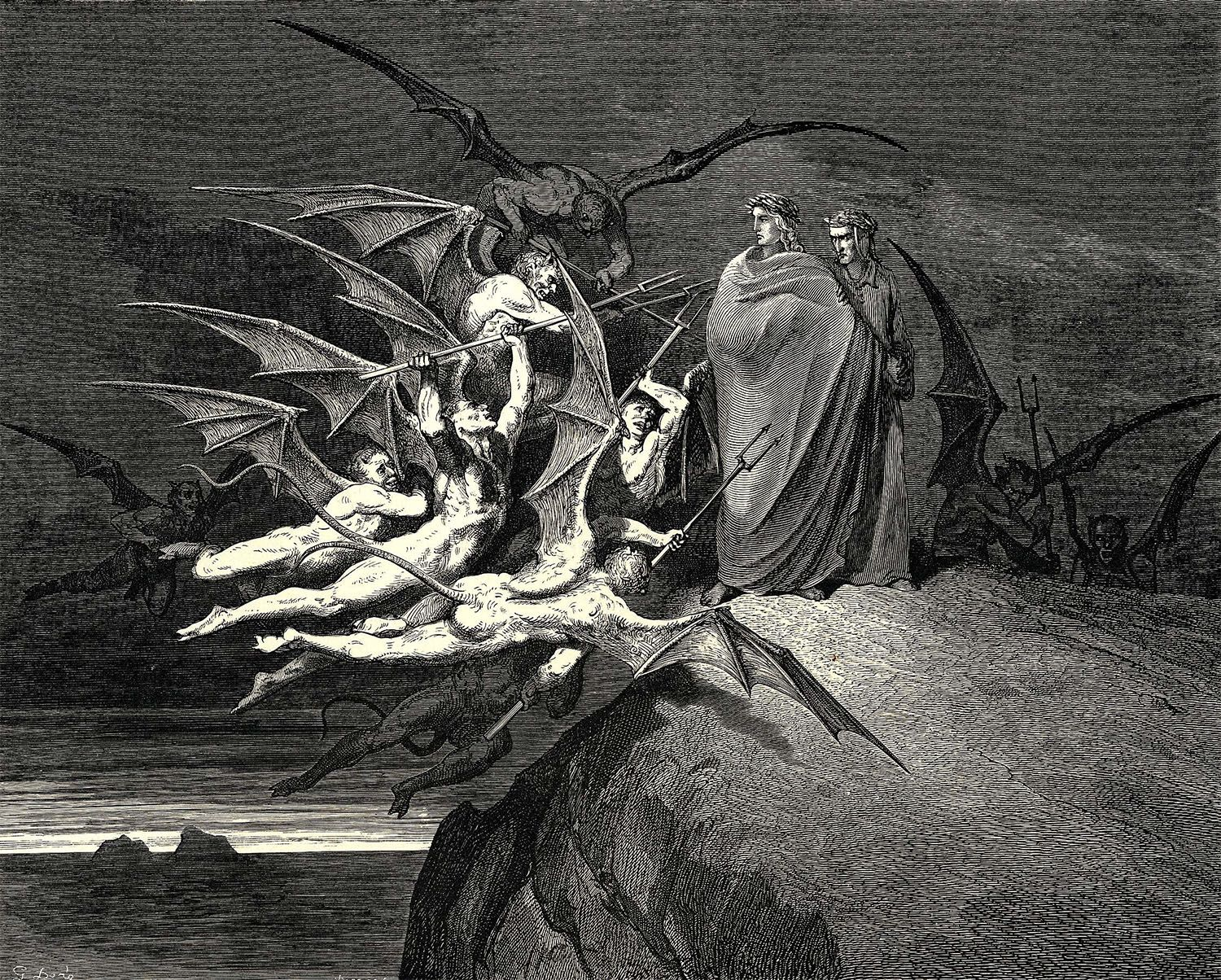 st augustine in the dantes inferno essay Comparing the spiritual journeys of dante and st augustine october 20, 2016 admin st augustine and dante made a great contribution to the development of world cultures.