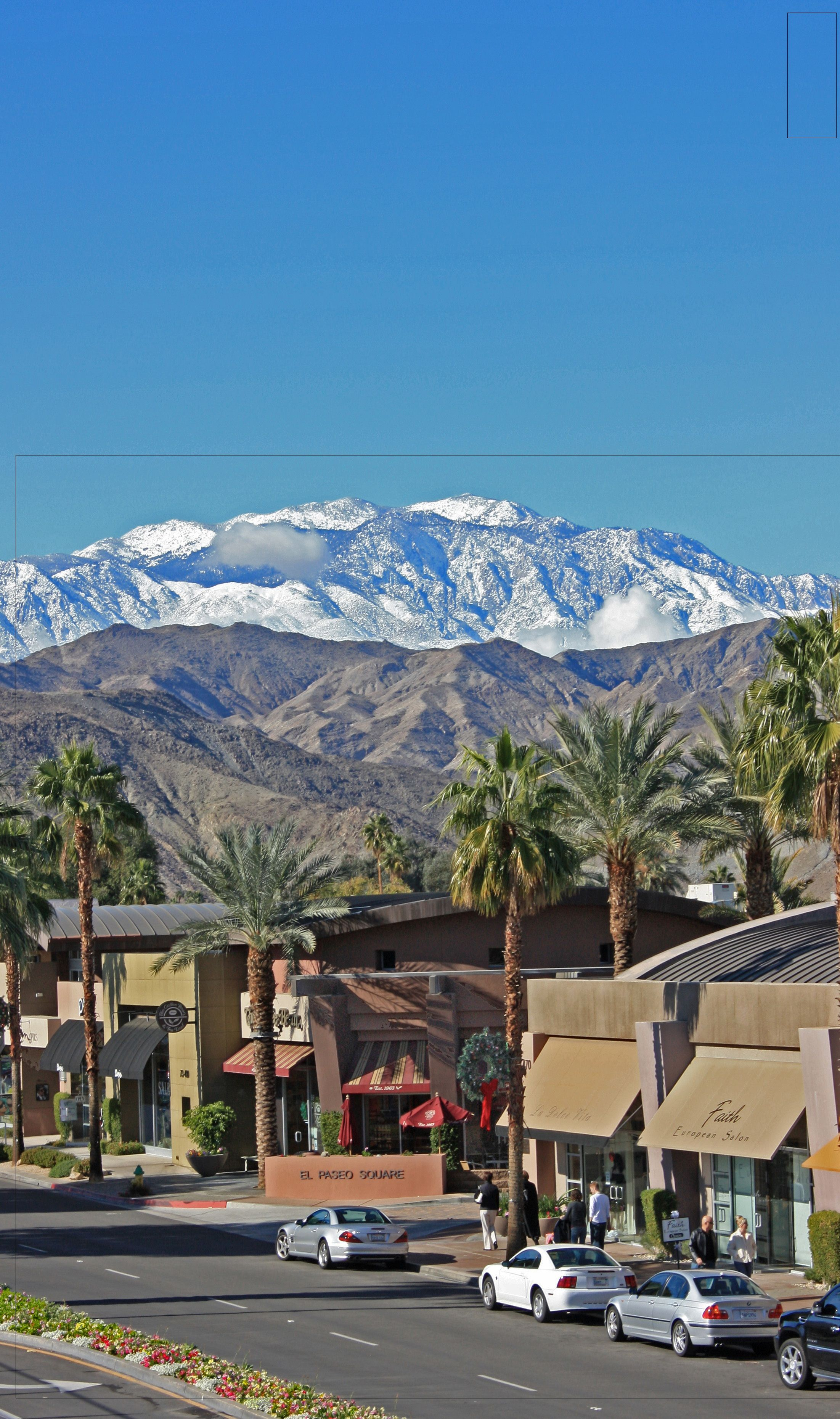 El Paseo in the Winter ! | Palm Springs - California | Pinterest ...
