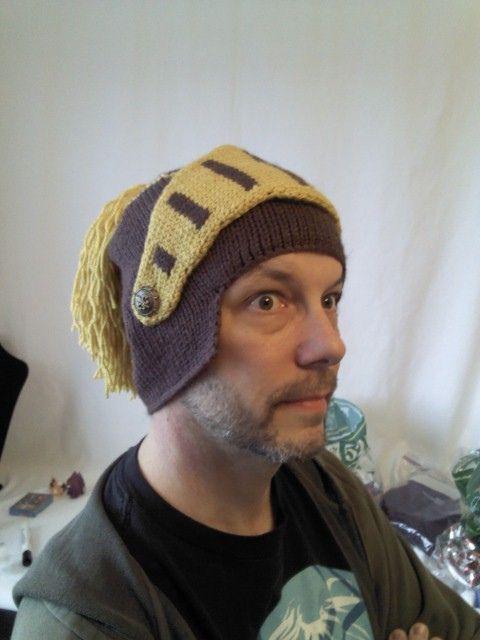 Ravelry: anneknits' Crusader Helmet. $4.99 USD #paid #pattern #knit