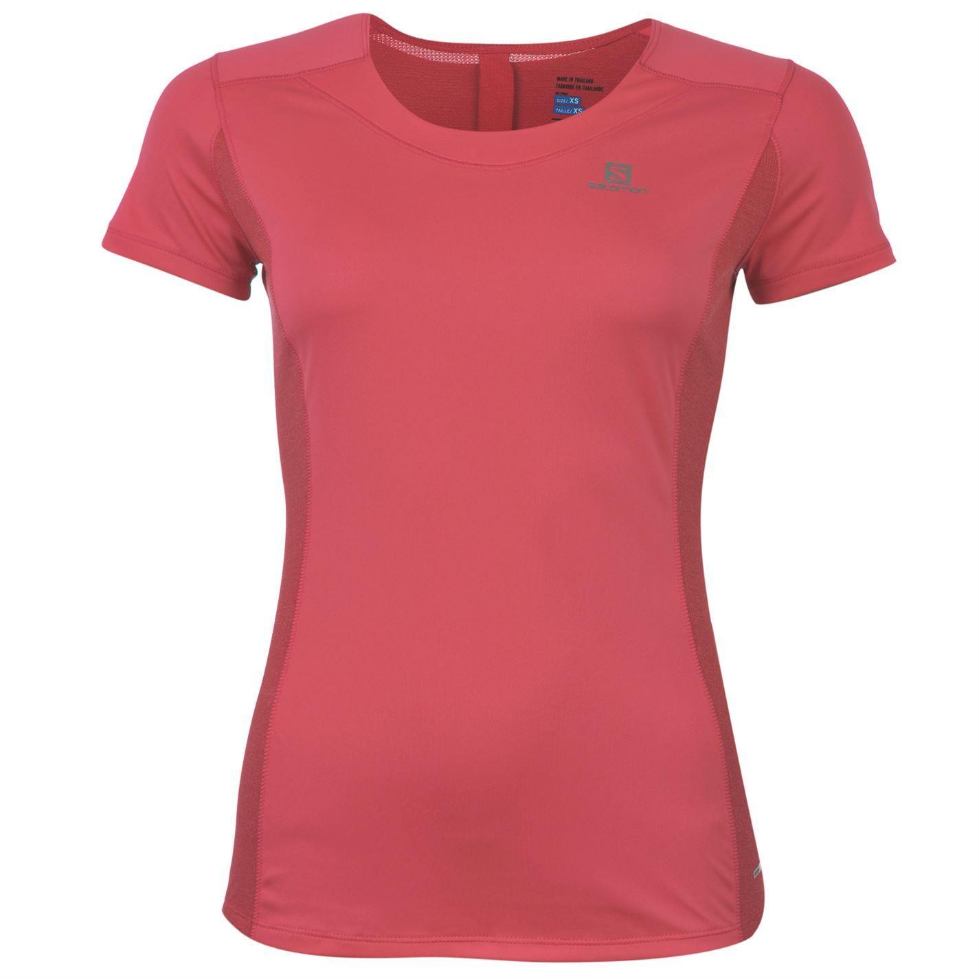 Salomon | Salomon Agile Short Sleeve T Shirt Ladies | Ladies Running Clothing