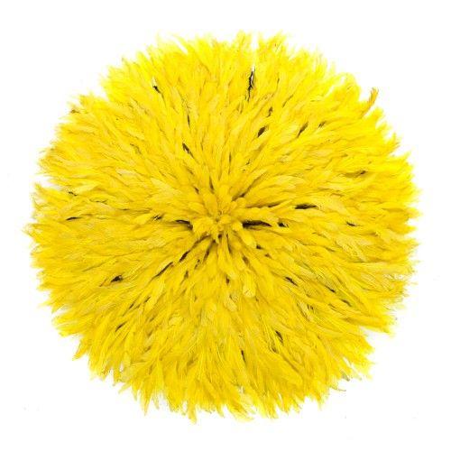 Feather Headdress Yellow   Snob