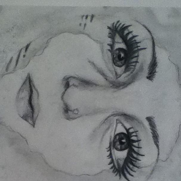 Self Portrait in Pencil - A2 Fine Art - 'Identity'