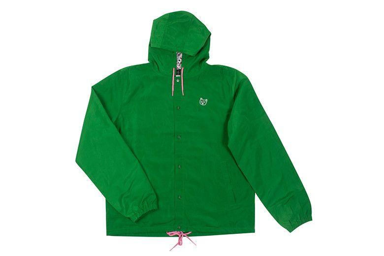 effd4db3c325 Golf Wang Cat Print Hooded Coach Jacket – Odd Future  120