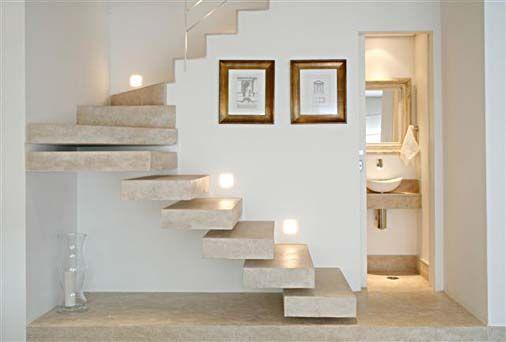 lavabo embaixo da escada  Pesquisa Google  Home ideas  Pinterest  Bonito -> Banheiro Pequeno Embaixo De Escada