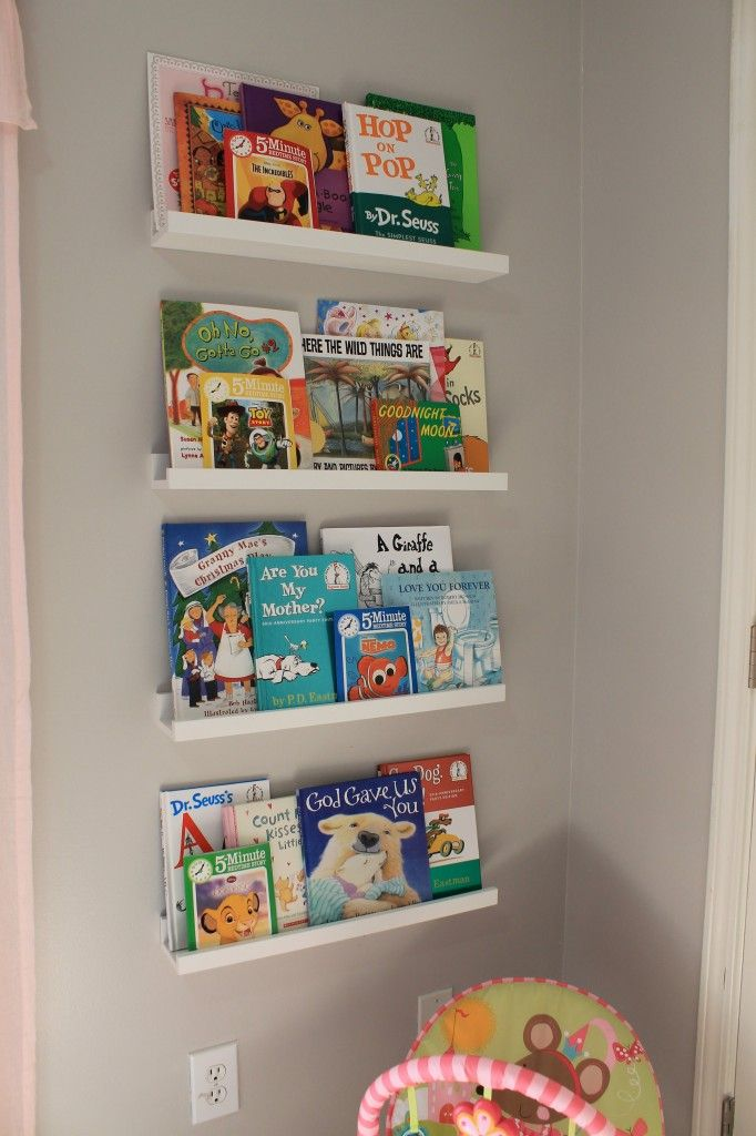 Cute idea for book shelf in child 39 s room kids room decor ideas pinterest book shelves - Adorable dollhouse bookshelves kids to decorate the room ...