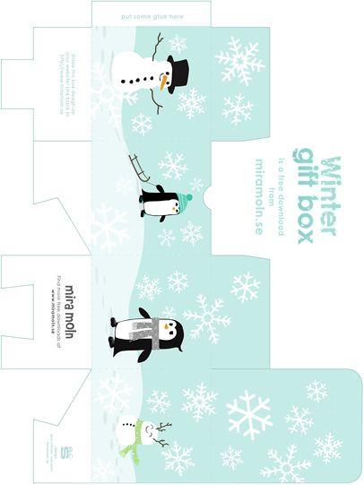 Personliga och roliga tryck hos mira moln Hivern Pinterest - gift box templates free download