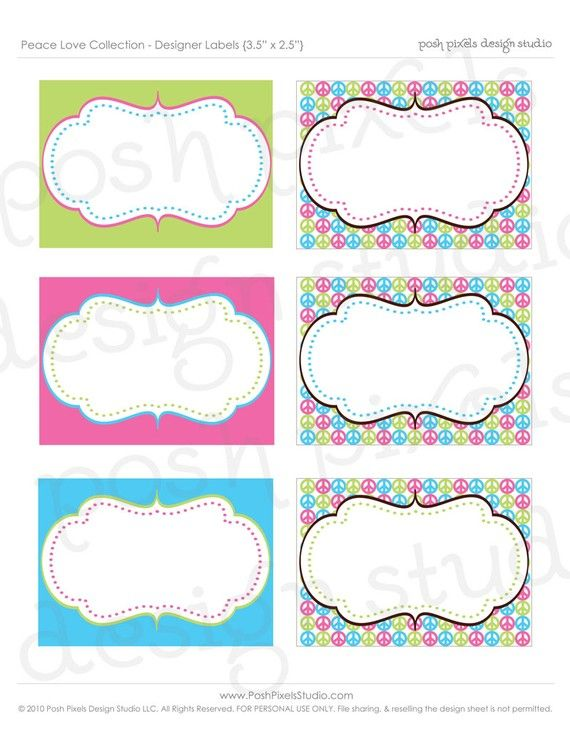 free printable candy buffet labels templates images galleries with a bite. Black Bedroom Furniture Sets. Home Design Ideas