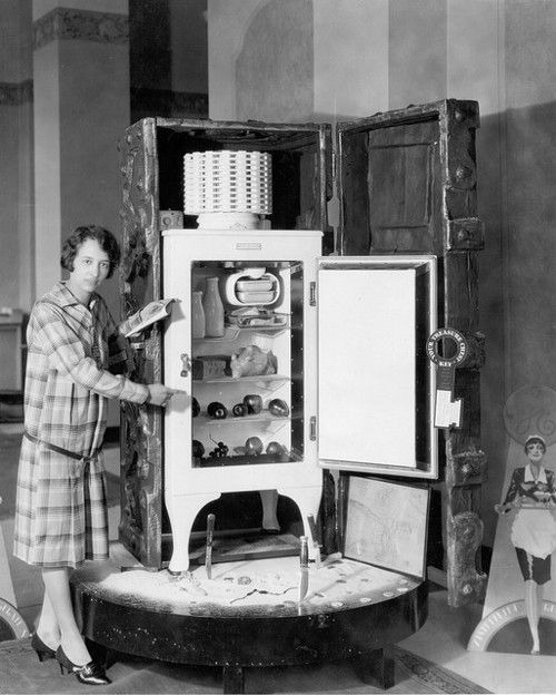 GE Monitor-top Refrigerator [1929]