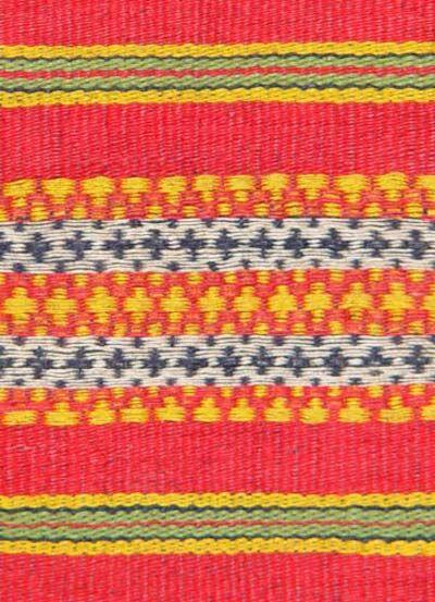 Jpeg 55k A Detail Of Floating Weave Kalinga Blanket