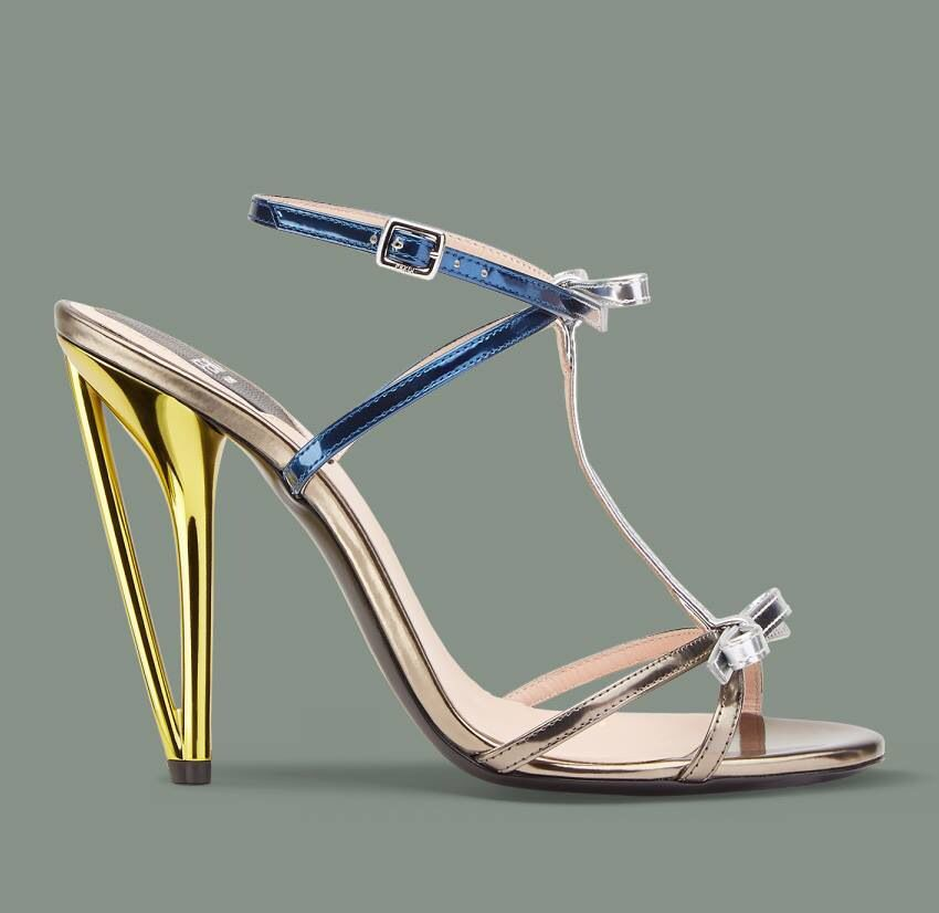 Pure design on heels
