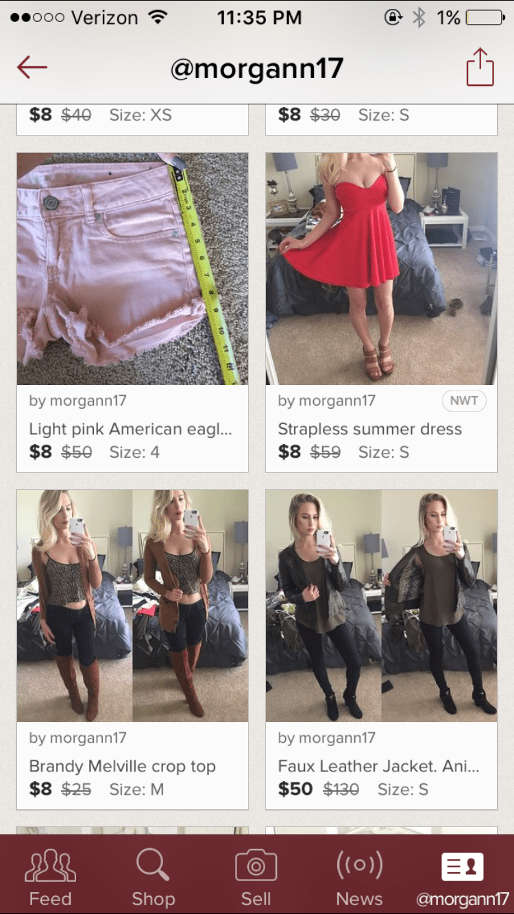 Good apps to sell clothes on