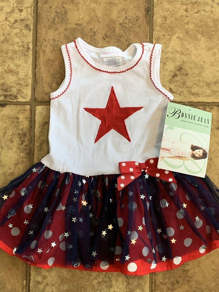 818b801c0fba9 NWT Bonnie Jean Toddler/Girl Sleeveless Dress