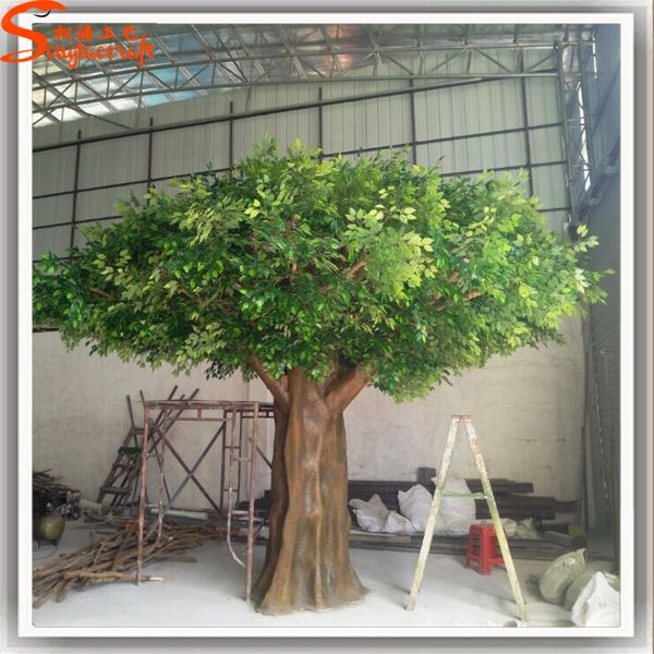 Wholesale Indoor Home Decorative Green Fiberglass Artificial Ficus Tree Banyan Trees For Sell View Fiddle Leaf Fig Tree Songtao Product Details From Guangzhou Shade Trees Artificial Tree Artificial Trees Outdoor