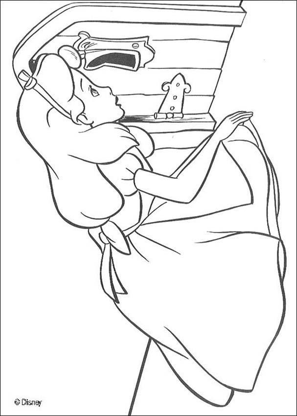 Alice 18 coloring page Libros nios y actividades Pinterest