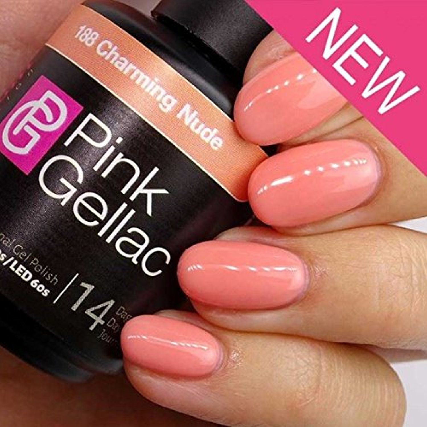 Pink Gellac #FootHandNailCare | Foot, Hand & Nail Care | Pinterest ...