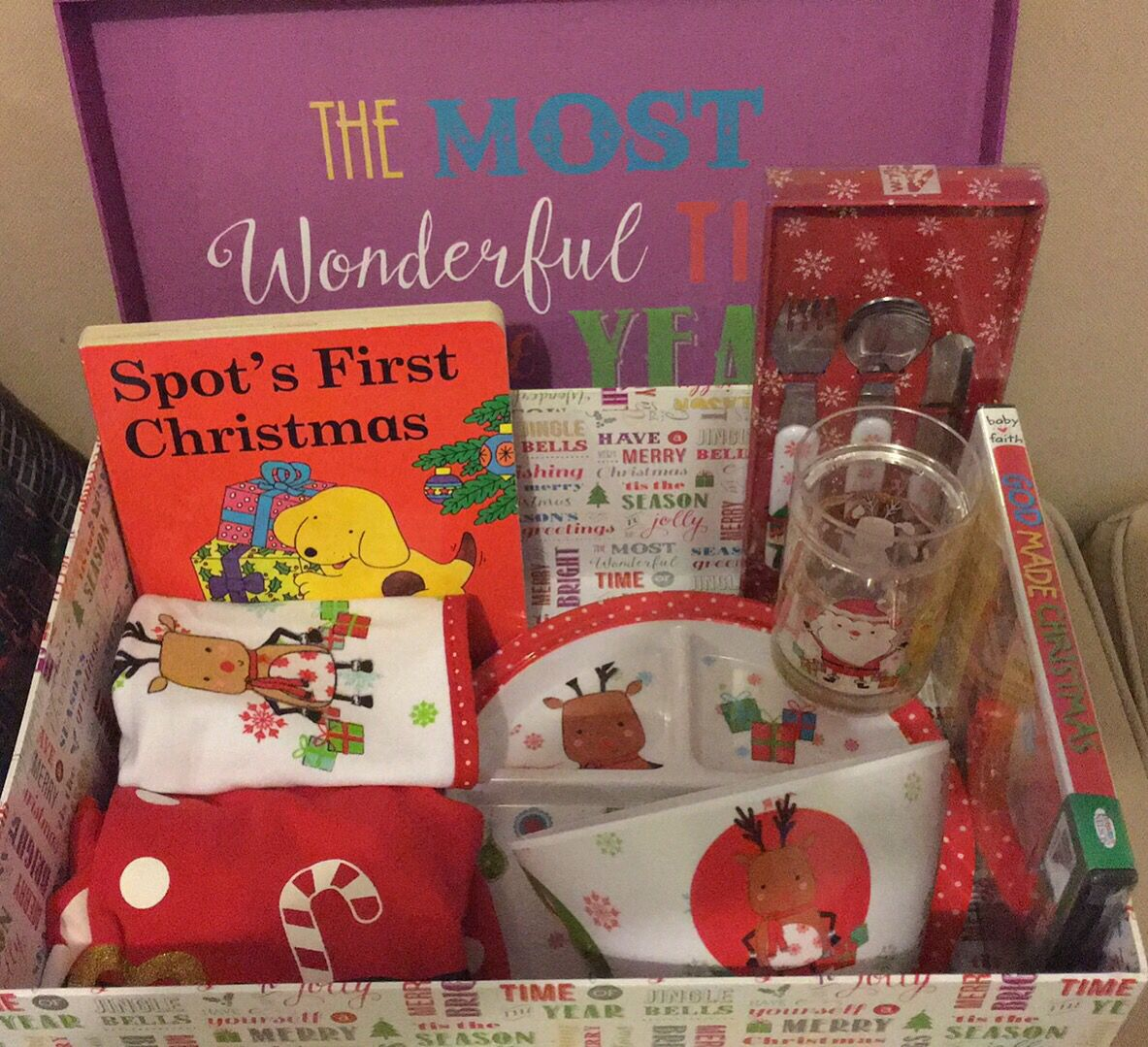 Christmas Eve box for a 9 month old \u2026