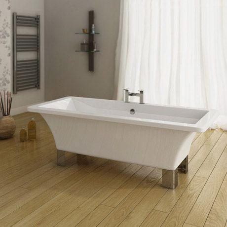 Milan 1690 Modern Square Roll Top Bath Victorian Plumbing Co Uk Roll Top Bath Modern Square Free Standing Bath Tub