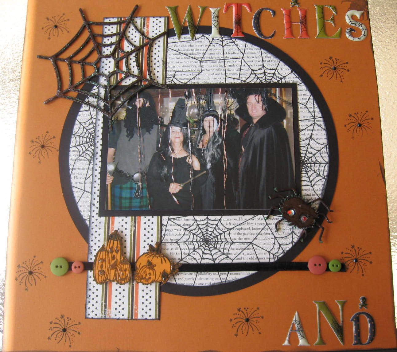 Witches and Warlocks - Scrapbook.com
