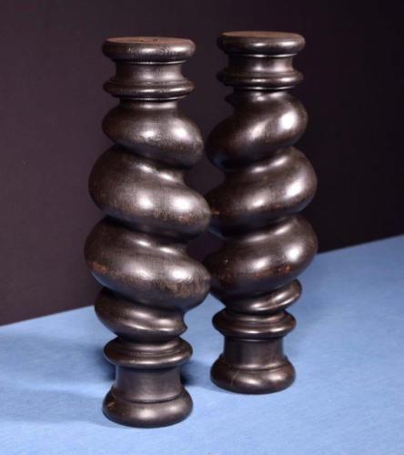 Best 17 034 Large Antique Spiral Turned Barley Twist Posts 400 x 300