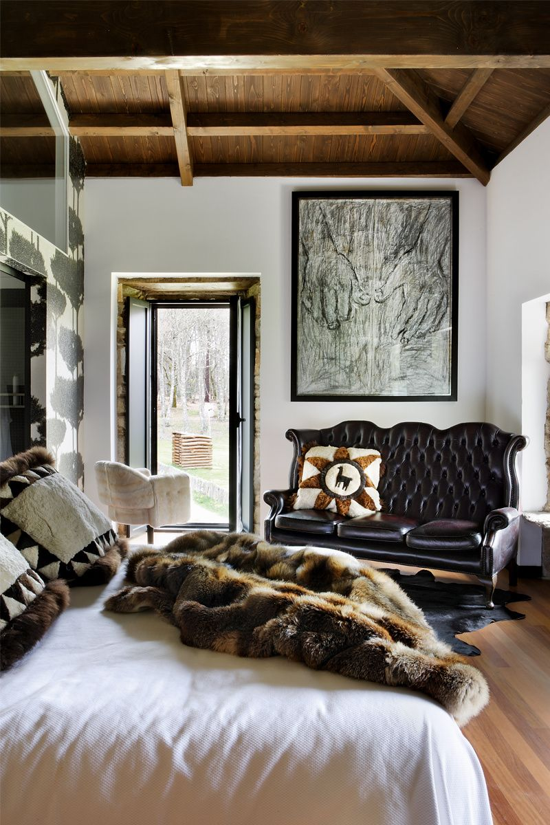 Una villa de Zaninovic | El dormitorio, Africanos y Manta