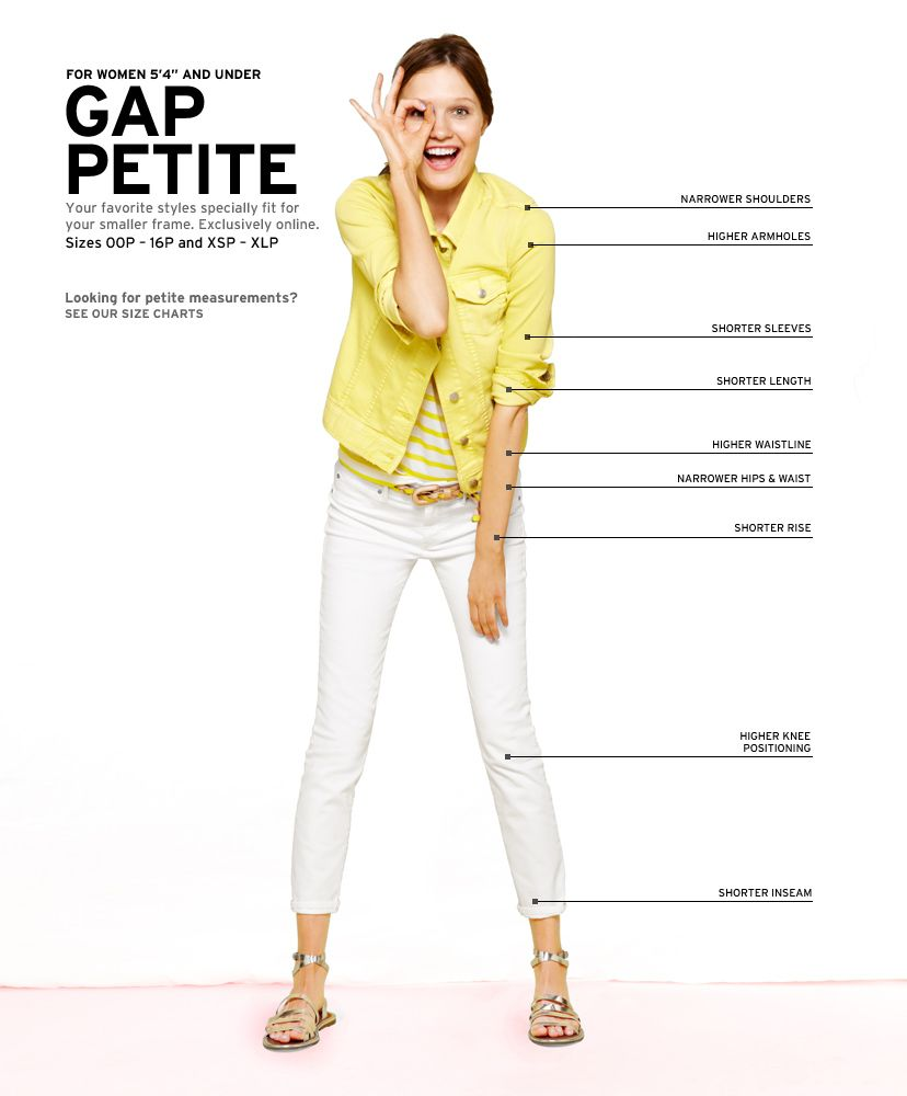 158c2a408 Women's Clothing: Women's Clothing: Petite | Gap. Question: Is Gap trying  to suggest that Petite women are goofy and childish? Check out the Tall  version of ...
