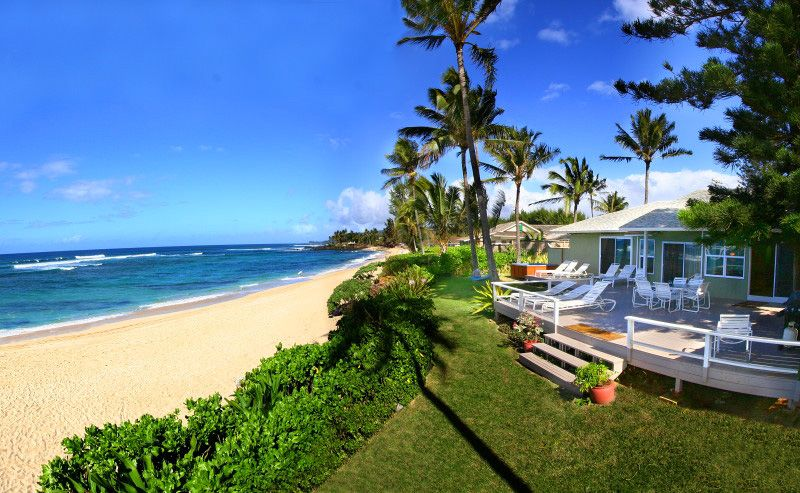 Beachhouses Hawaii Beach Homes Specializes In Vacation Als On Oahu S North And