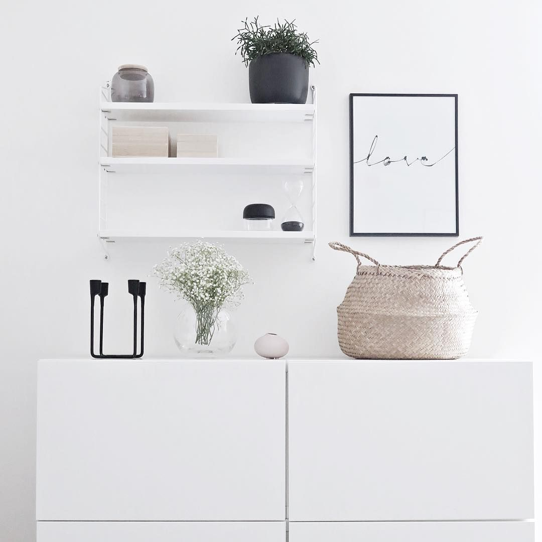 white minimalism inspiration pinned by birambi home. Black Bedroom Furniture Sets. Home Design Ideas