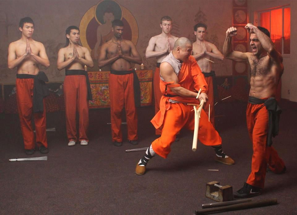 Shaolin Temple UK. Steel Jacket! Don't copy at home!