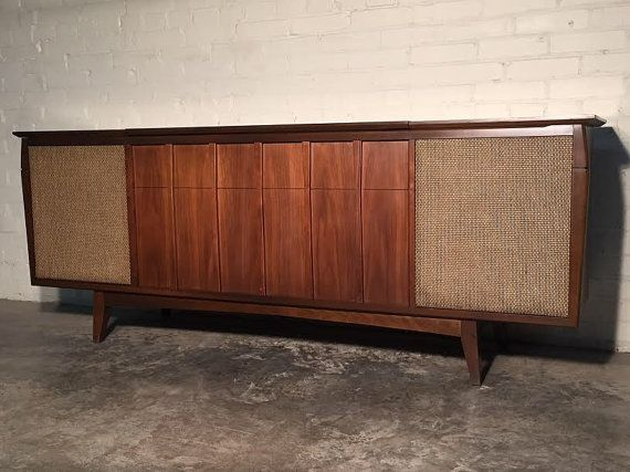 RCA Stereo console in the design style of Oscar Niemeyer and ...
