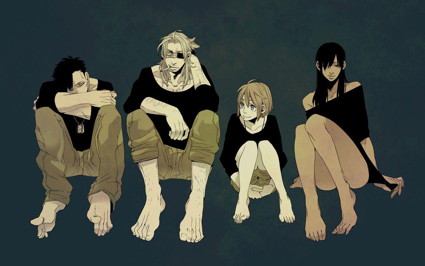 Image Dossier Gangsta KOHSKE Partie 1 Manga news