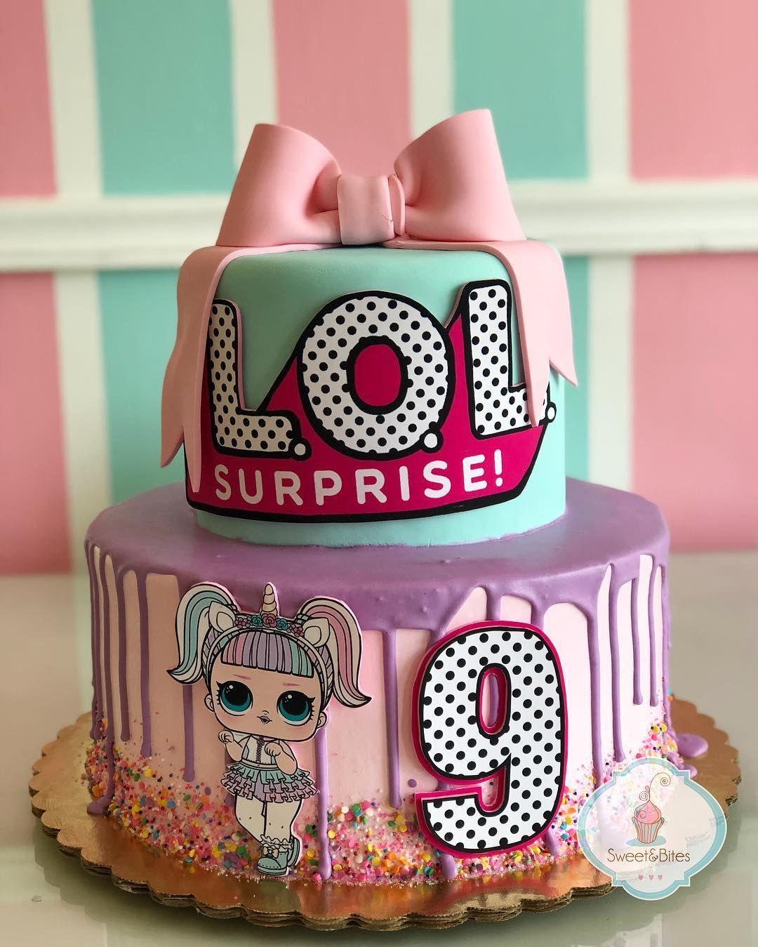 Lol surprise cake para uno de los cumples suuuper chulos